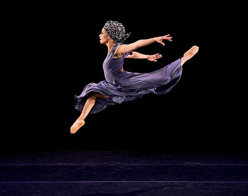 Alvin Ailey American Dance Theaters Belen Pereyra in Ronald K Browns Four Corners Photo by Paul Kolnik