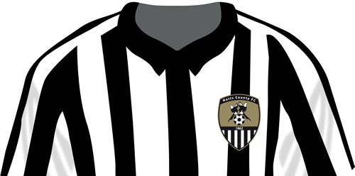 Notts County shirt - Illustration by Natalie Owen