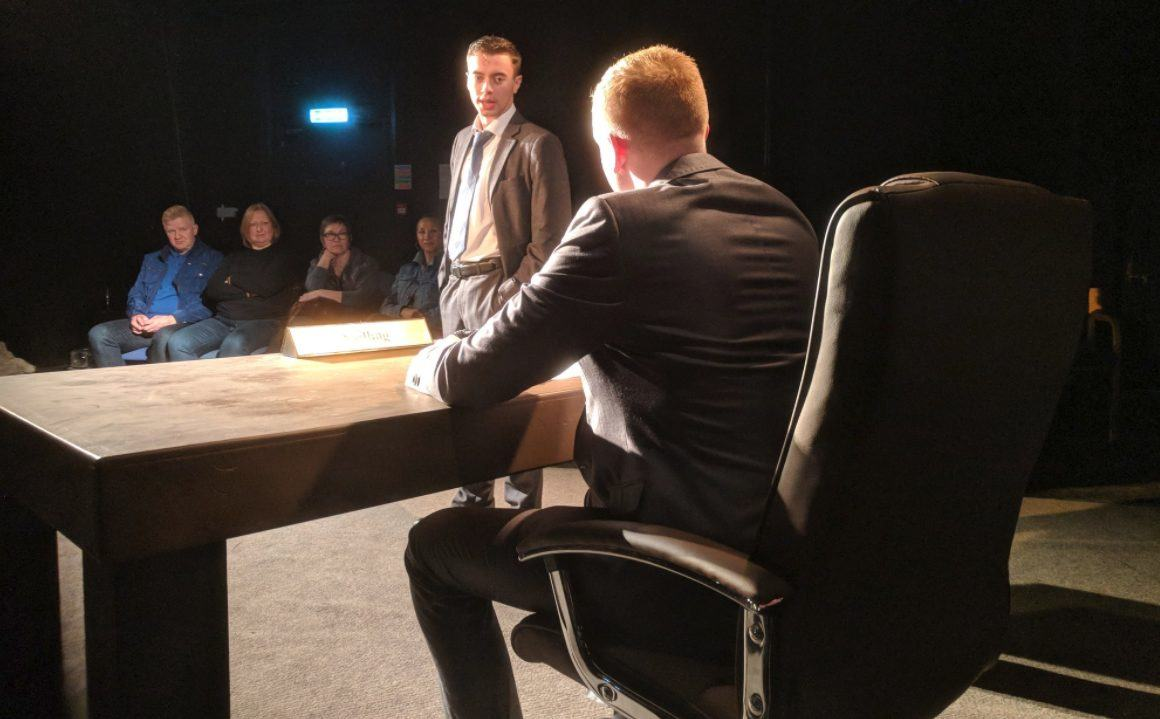 Enron at Television Workshop - Photo by Jared Wilson