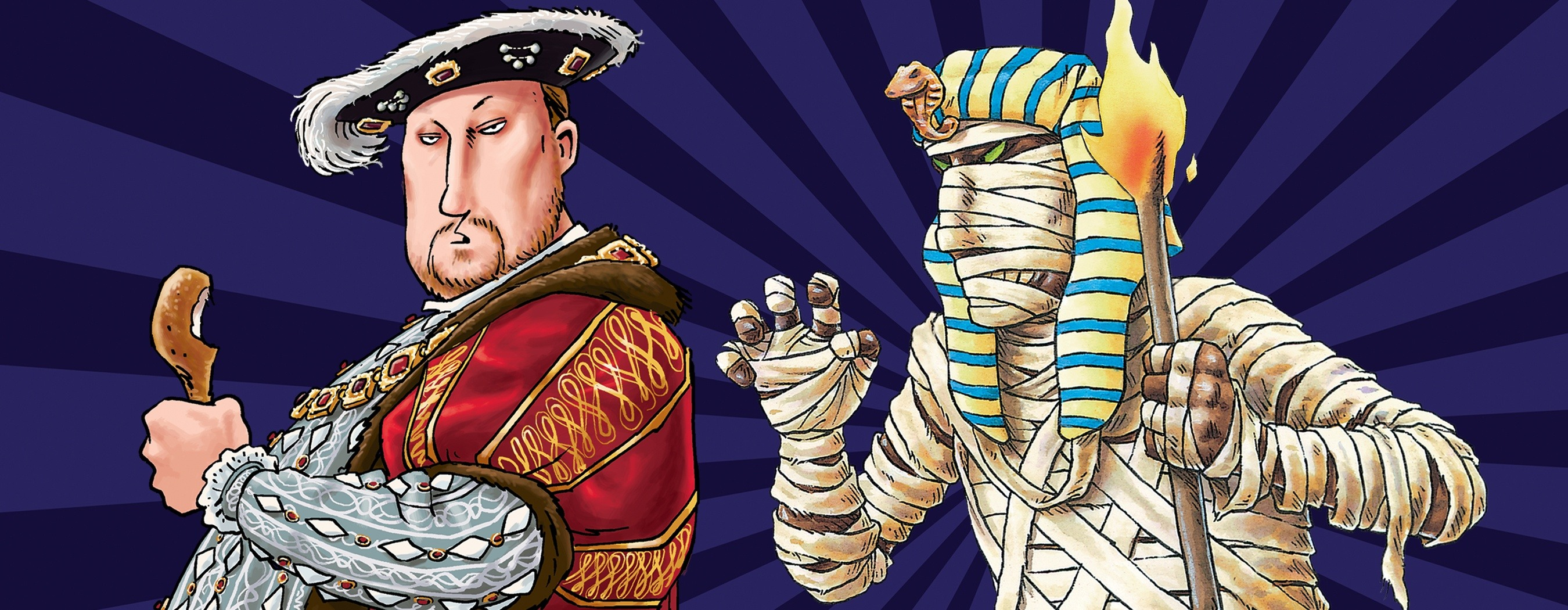 Horrible Histories: Terrible Tudors and Awful Egyptians