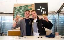 <p>The guys from the fantastic North Brewing Co. </p> <p>Their beer 'Waving Flags' DDH IPA was voted as the Beer of the festival!</p>