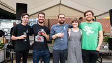 <p>Lewis and co. getting ready to shave their heads for mental health charity: Mind </p>