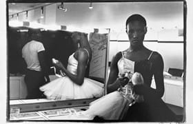 Ming Smith, Untitled (Grace Jones Ballerina), 1975. Courtesy of the artist and Jenkins Johnson Gallery, New York and San Francisco.