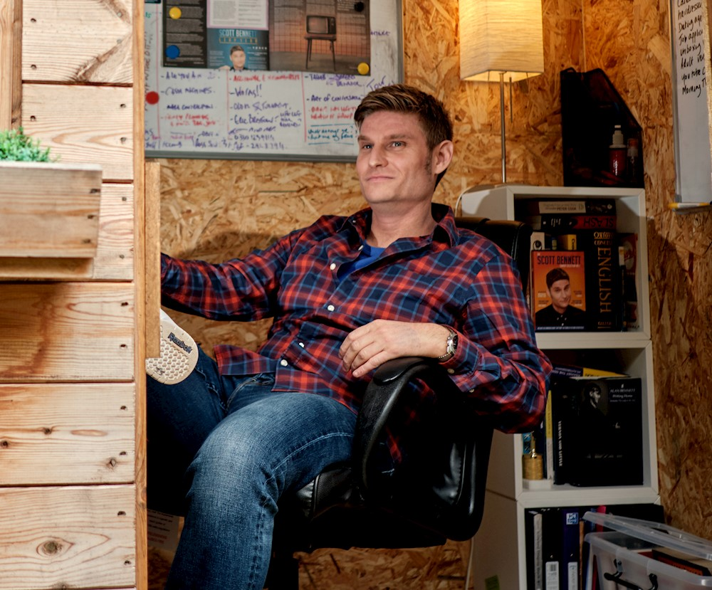 Scott Bennett: The Voice In My Shed