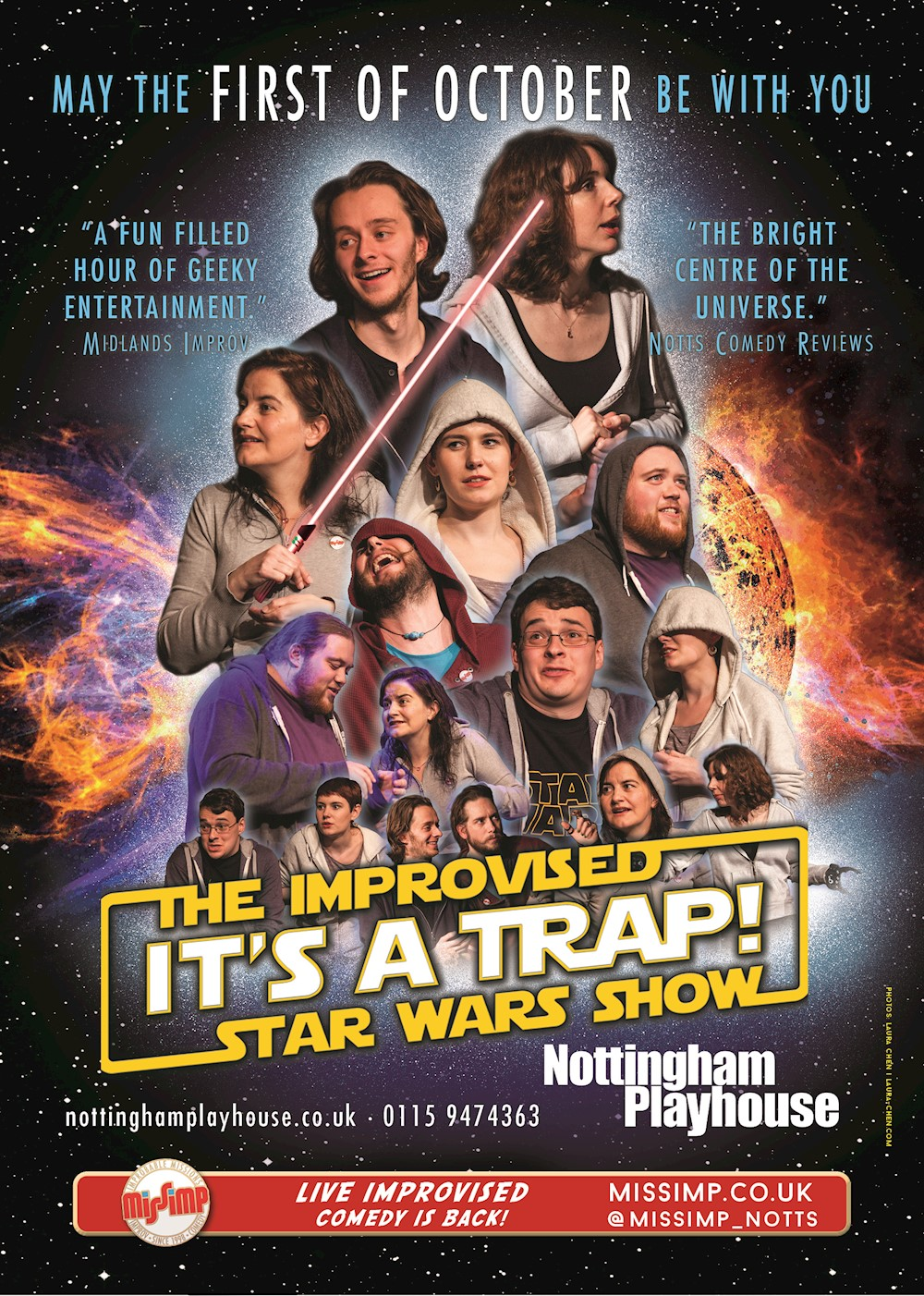 IT'S A TRAP! The Improvised Star Wars Show