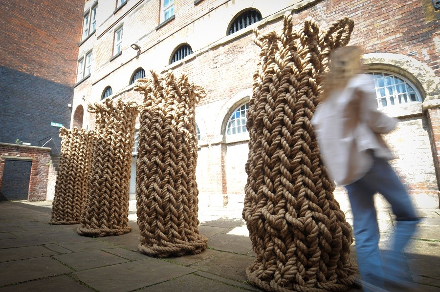 Witness, a site-specific installation by Susie MacMurray